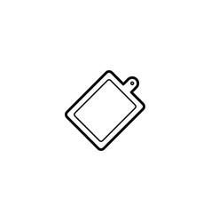 cutting board chopping board icon vector image