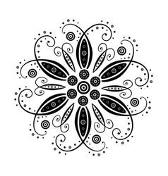 floral element of design vector image