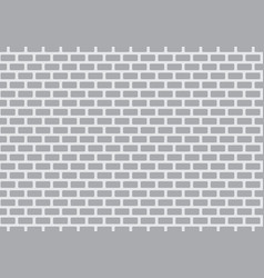 gray bricks wall vector image