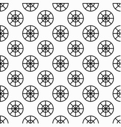 seamless monochrome abstract pattern on a white vector image