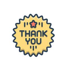 Thankyou vector