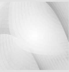 wave gray and white color for business concept vector image