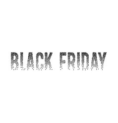 banner concept for black friday sale vector image vector image