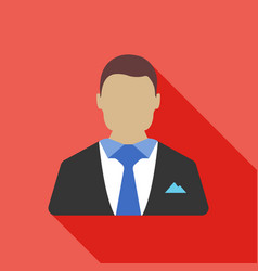 businessman icon business concept vector image
