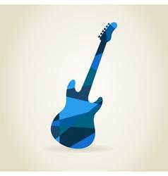 Guitar abstract vector