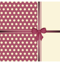 Cute Decorative Background vector image vector image