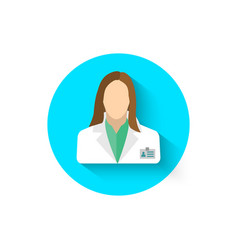 doctor icon is a symbol of medicine medical vector image