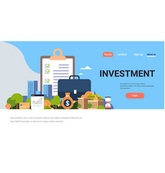 Checklist survey investment property business vector