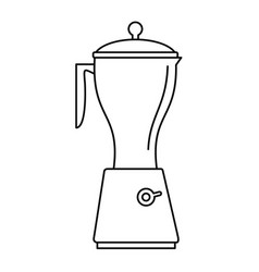 Electric mixer icon outline style vector
