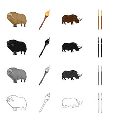 Labor stone age and other web icon in cartoon vector