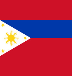 National flag philippines philipines flag vector