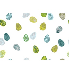 patterns eggs retro vector image vector image