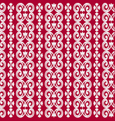 Seamless geometric pattern in eastern style of vector
