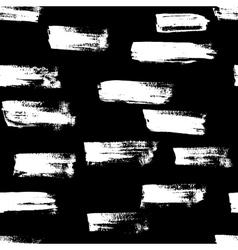 Seamless handmade abstract brush strokes vector