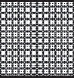 retro pattern with grey black and white vector image