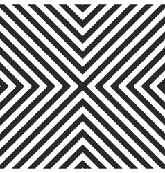 Tile black and white pattern vector image vector image