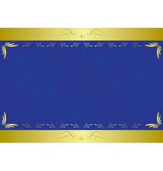 elegant vector blue card with texture vector image vector image