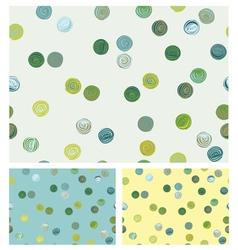 patterns circles vector image vector image