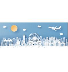 Ahmadabad india landmark vector