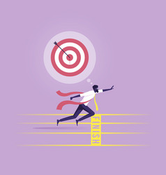 Business success concept-take action for success vector