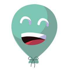cartoon balloon icon vector image