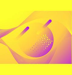 colorful liquid shape fluid concept design vector image