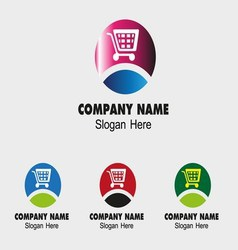 E-Commerce symbol logo vector