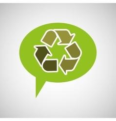 symbol recycle design vector image