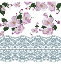Vintage Beautiful Floral Card vector