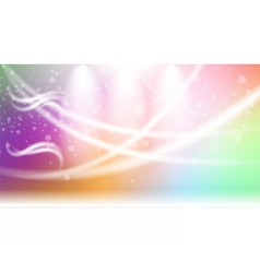 Digital abstract empty light rainbow vector image
