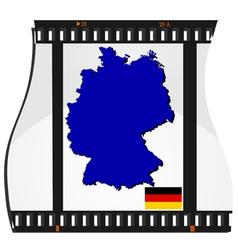 film shots germany vector image vector image