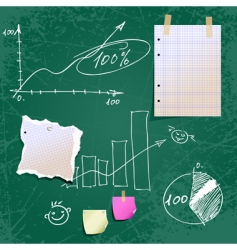 school time vector image