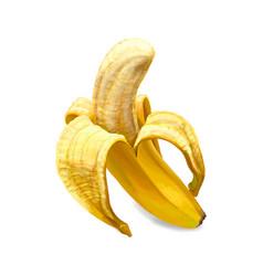 Banana sweet fruit vector