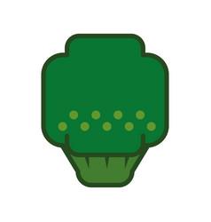 Broccoli green vegetable vector