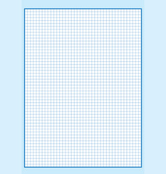 engineering graph paper printable graph paper vect vector image