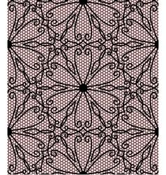 Flower oriental lace vector