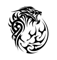 lion 2 vector image