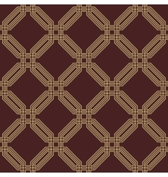 Seamless Abstract Pattern With Octagons vector