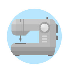 sewing machine old vintage equipment design tool vector image