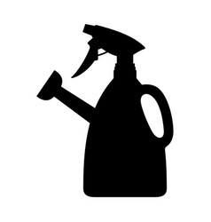 watering can with sprayer vector image