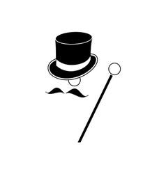Gentleman-380x400 vector image vector image