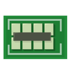 Computer bus icon cartoon style vector