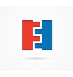constructor design logo vector image