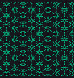 Dark background with abstract pattern shape vector