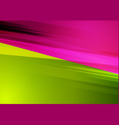 Green and purple abstract tech grunge background vector