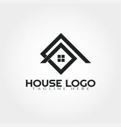 House logo design template home icon vector