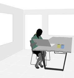 Office room vector