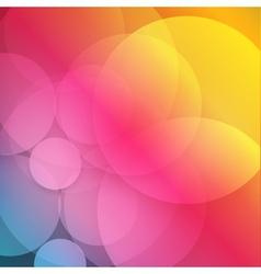 Paper circle with drop shadows vector