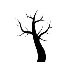 dry tree icon vector image