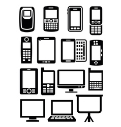 Gadgets with screen vector